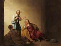 joseph deutet die träume der gefangenen by willem bartsius