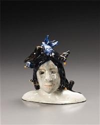 ceramic head by klara kristalova