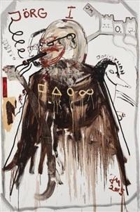 jörg immendorf (der bergritter naht) by jonathan meese