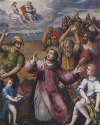 the martyrdom of saint stephen by vicente juan (de juanes) masip