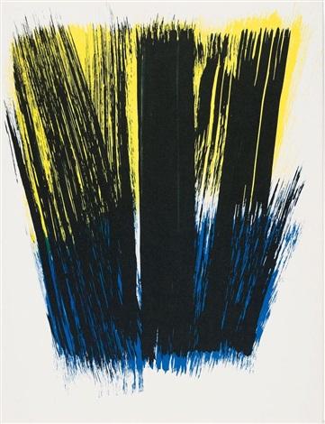 farandole (portfolio of 15 w/title & colophon) by hans hartung