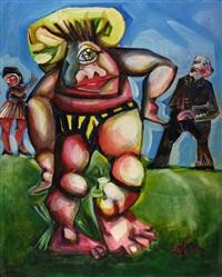 figure cubiste by claudio fabbris