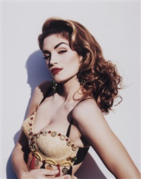 cindy crawford, vanity fair by michel comte