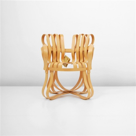 cross check arm chair by frank gehry