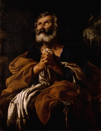 saint peter in penitence by flaminio torre