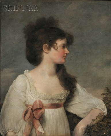 portrait of miss murray by john russell