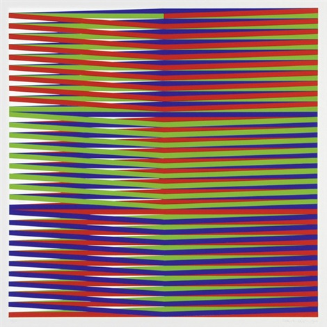 couleur additive (portfolio of 8) by carlos cruz-diez
