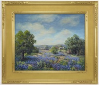 bluebonnets by louis jez