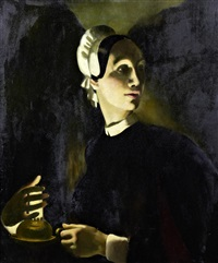 lady of the lamp by doris clare zinkeisen