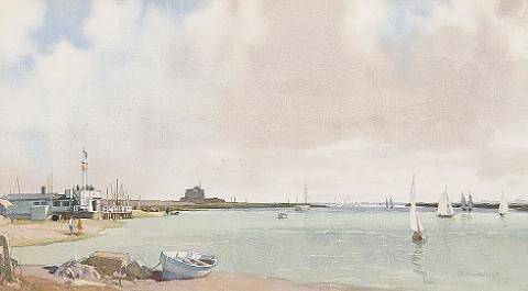 slaughden suffolk yacht racing on the alde by leonard russel squirrell