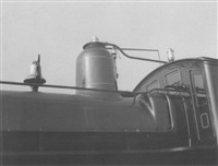 engine, detail of penn. class h3. built 1888. n.y. world's fair by beaumont newhall