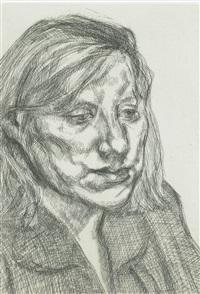 head of ib by lucian freud