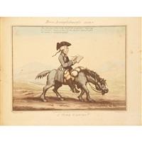 horse accomplishments by george moutard woodward & thomas rowlandson