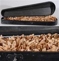 geigenkasten mit ahornblättern by werner hartmann