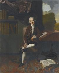portrait of william stackhouse (1720-1771) by johann joseph zoffany