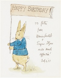 happy birthday! by maurice sendak