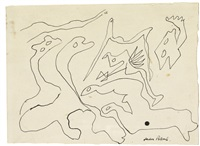 untitled (figures) by jackson pollock