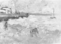 entrée du port du havre by joseph raumann