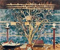 l'arbre aux oiseaux by léon spilliaert