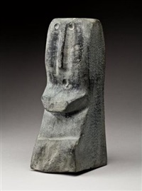 head of a woman by elizabeth nutaraluk aulatjut