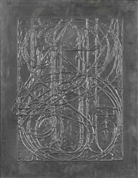 0 through 9 (from lead reliefs) by jasper johns