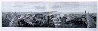 panorama von bern, vom kaefigturm aus by gottlieb (publisher) hasler