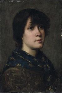 ritratto di donna by vittorio tessari