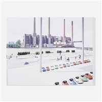 vw lernpark (from the landscapes with figures portfolio) by massimo vitali