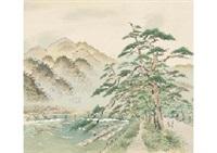arashiyama in the wind by yoson ikeda