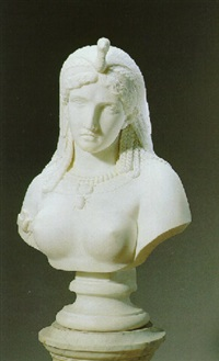 bust of cleopatra by james henry haseltine
