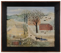 springtime in bucks county by jeanne davies