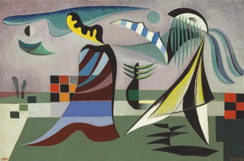 scene from another planet by werner drewes