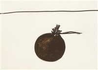 untitled (from the mais ou menos frutas series) by mira schendel