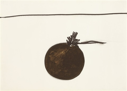 untitled from the mais ou menos frutas series by mira schendel