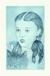 blue prints: dorothy by kiki smith