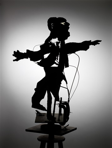 construction for return tenor by william kentridge