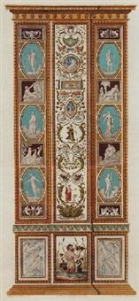 pilaster designs by lodovico tesio