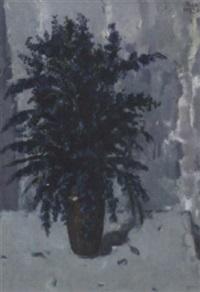 bluebells in a vase by john miller