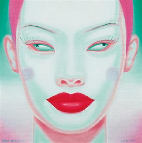 china portrait by feng zhengjie