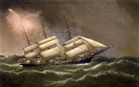 the clipper ship dreadnought by duncan mcfarlane