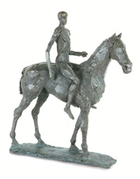 horseman by elisabeth frink