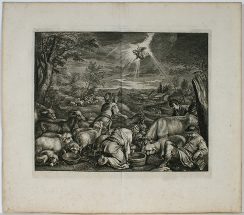 die abreise abrahams nach sichem after jacopo bassano by cornelis visscher