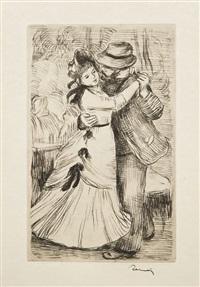 la danse à la campagne, pl.2 by pierre-auguste renoir