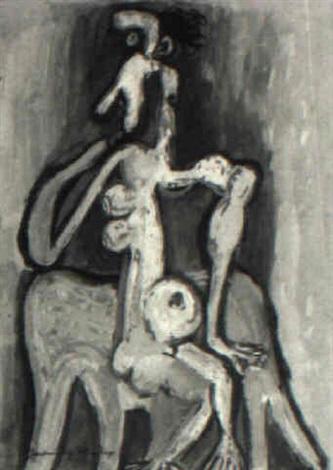 woman by roberto diago