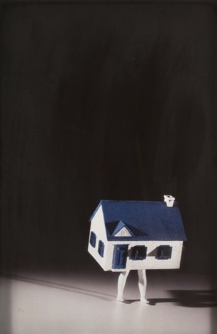 walking house by laurie simmons