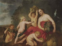 ceres, or allegory of summer by flemish school