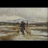pastore con armenti by ferruccio rontini