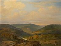 vue plongeante sur le barrage de la gilette by adam van peursen