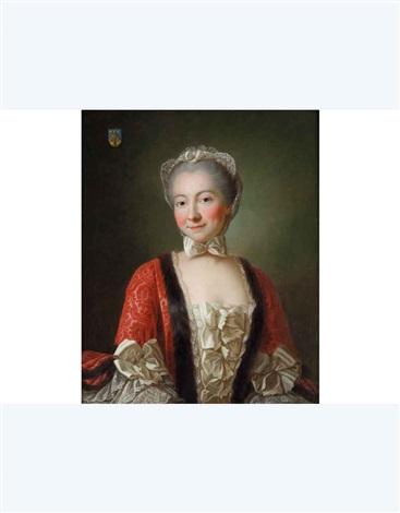 ritratto di dama by françois hubert drouais