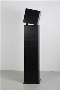 kommode black ball by burkhard vogtherr